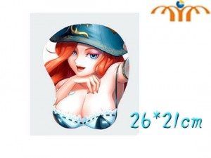 Podkładka 3D League of Legends #1 Miss Fortune
